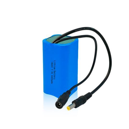 7.4v 4400mAh battery